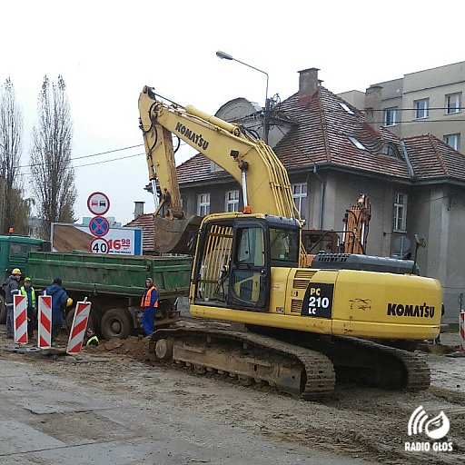 Remont ul. Gdańskiej w Tczewie