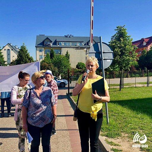 Marsz w Pelplinie z okazji Dni Godności Osób Niepełnosprawnych 25.05.2018