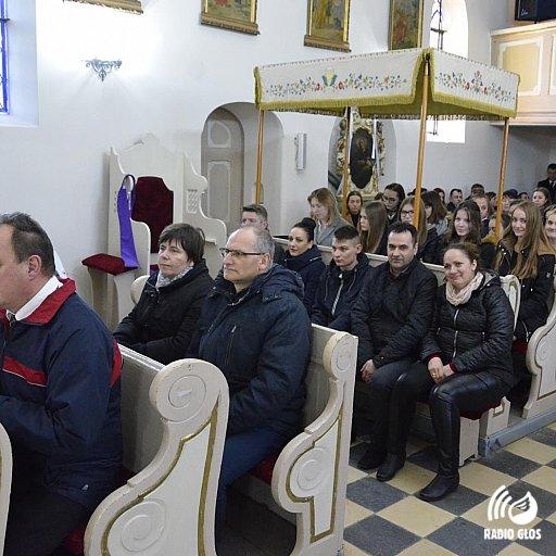 Bierzmowanie w parafii św. Jakuba w Dzierżążnie