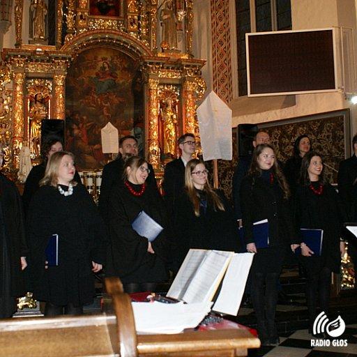 Koncert wielkopostny chórów Cartusia i Kakofonia w Kartuzach