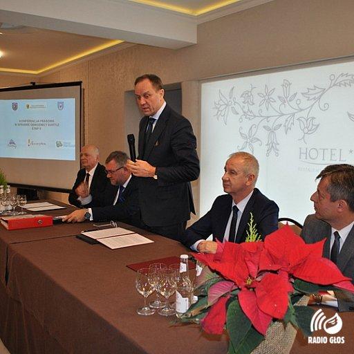 Konferencja prasowa w Kartuzach