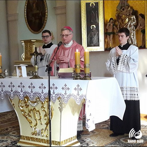Msza św. w domu biskupim 22.03.2020