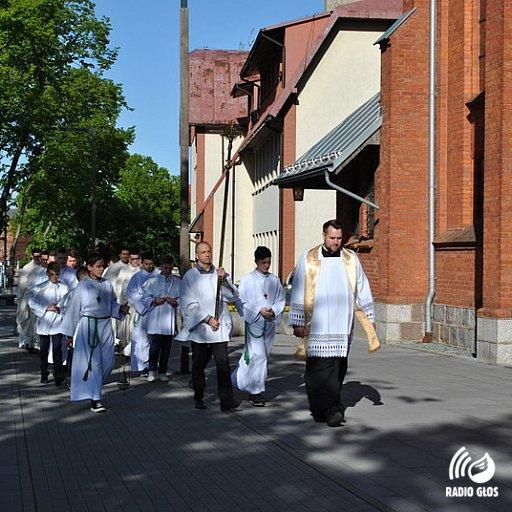 Sekundycja neoprezbiterów pelplińskich w Kartuzach